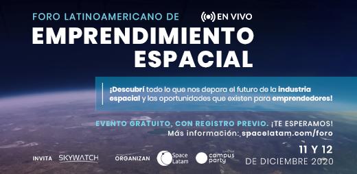 Foro Latinoamericano de Emprendimiento Espacial- Finalizado